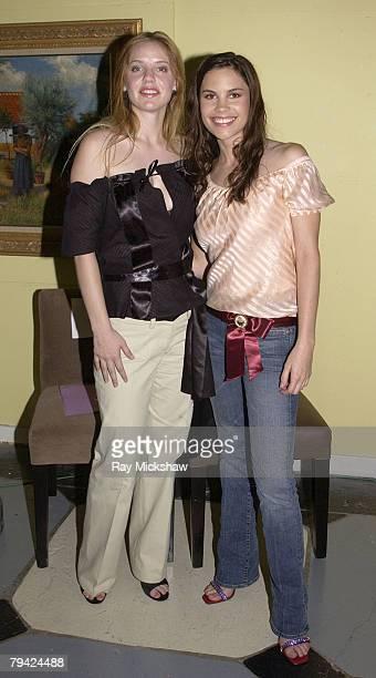 Kelli Garner and Ashley Bashioum