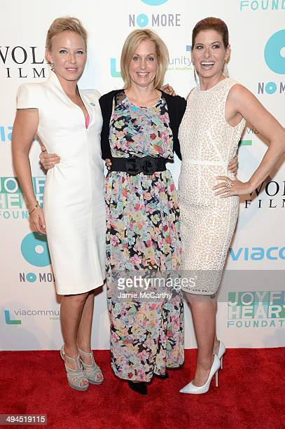 Kelli Giddish Ali Wentworth and Debra Messing attend the Joyful Heart Foundation Presents The Joyful Revolution Gala 10th Anniversary Celebration at...