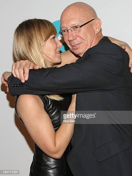 Kelli Giddish and Dann Florek attend The 5th Annual Joyful Revolution Gala at Cipriani Wall Street on May 9 2012 in New York City