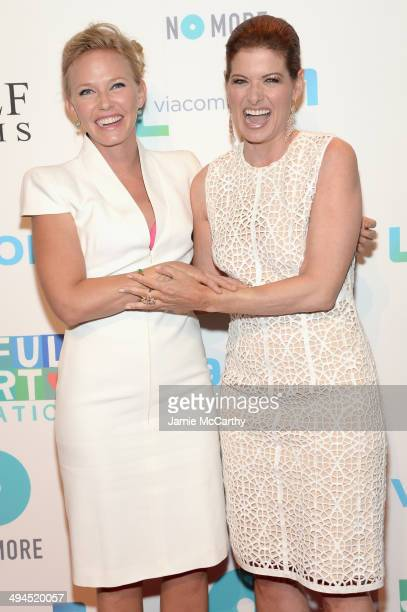 Kelli Giddish and Debra Messing attend the Joyful Heart Foundation Presents The Joyful Revolution Gala 10th Anniversary Celebration at Cipriani 42nd...