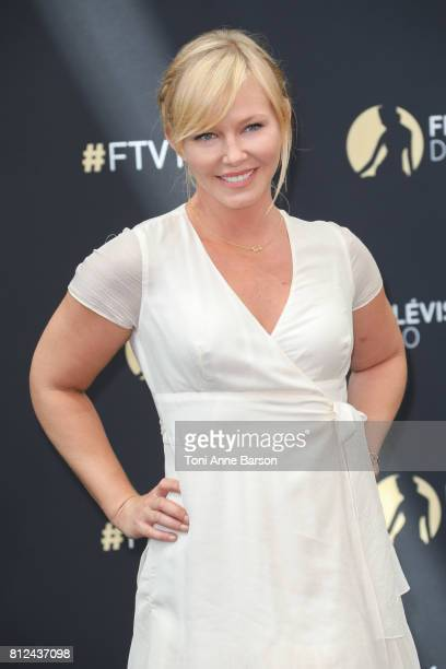 Kelli Giddish attends photocall for 'Law Order' on June 17 2017 at the Grimaldi Forum in MonteCarlo Monaco