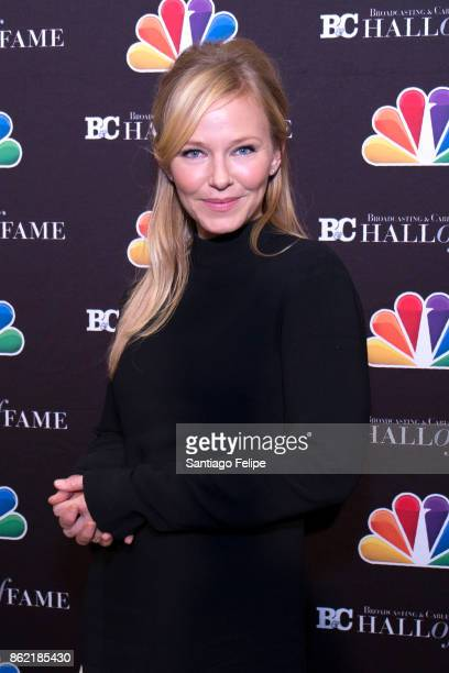 Kelli Giddish attends the 2017 Broadcasting Cable Hall Of Fame 27th Anniversary Gala at Grand Hyatt New York on October 16 2017 in New York City
