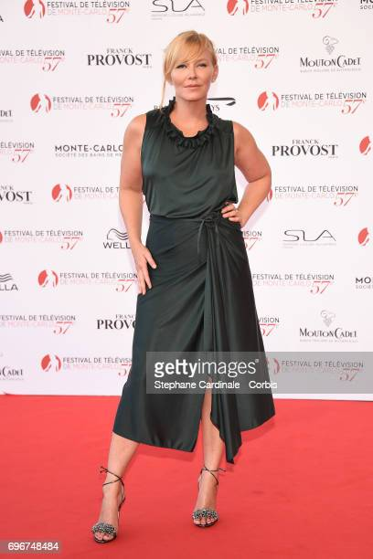 Kelli Giddish attends the 57th Monte Carlo TV Festival Opening Ceremony on June 16 2017 in MonteCarlo Monaco
