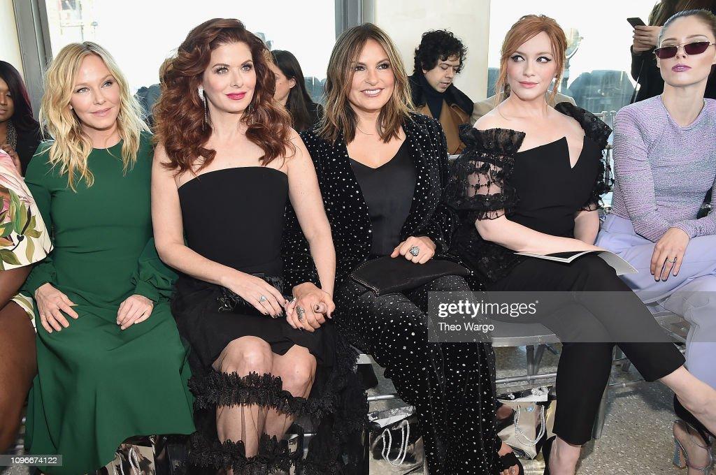 Christian Siriano - Front Row - February 2019 - New York Fashion Week : News Photo