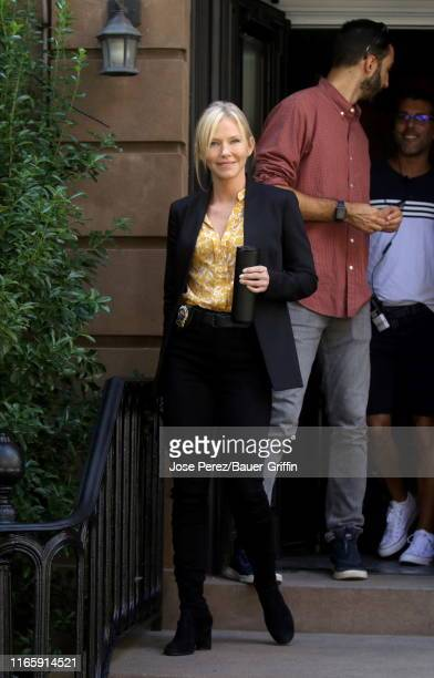 Kelli Giddish is seen on the set of Law and Order Special Victims Unit on September 03 2019 in New York City