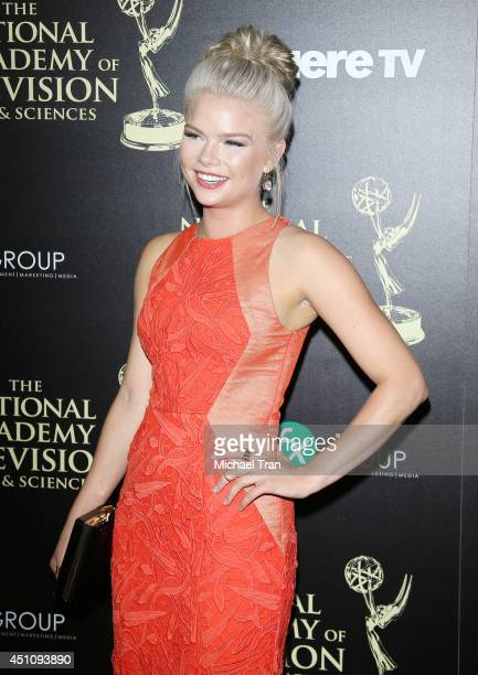 Kelli Goss arrives at the 41st Annual Daytime Emmy Awards held at The Beverly Hilton Hotel on June 22 2014 in Beverly Hills California