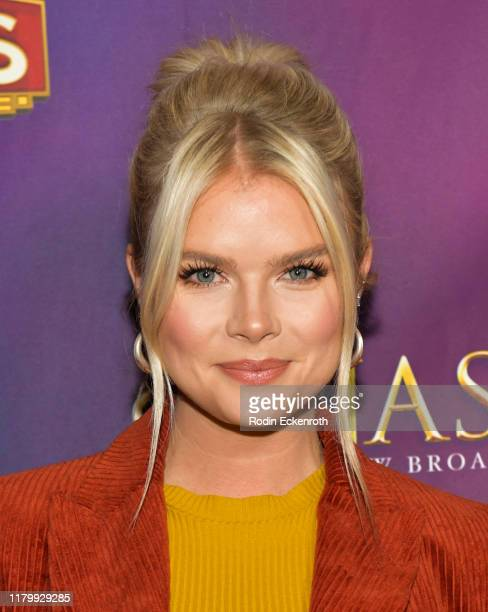 Kelli Goss attends the Open Night Performance of Anastasia Hollywood Pantages Theatre at the Pantages Theatre on October 08 2019 in Hollywood...