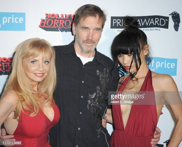 """Kelli Maroney, Bill Moseley and Bai Ling attend the Premiere Of """"Exorcism"""" At 60,000 Feet as part of Hollywood Horrorfest held at Mayflower Club Inc..."""