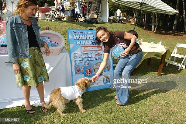 Kelli McCarty and Margaret at White Bites during Silver Spoon Dog and Baby Buffet Day 2 at Private Residence in Los Angeles California United States...