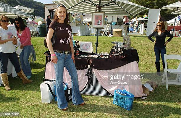 Kelli McCarty at Mint Jewels during Silver Spoon Dog and Baby Buffet Day 2 at Private Residence in Los Angeles California United States Photo by Amy...