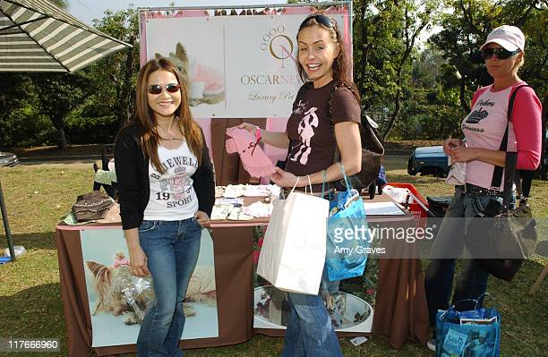 Kelli McCarty at Oscar Newman during Silver Spoon Dog and Baby Buffet Day 2 at Private Residence in Los Angeles California United States Photo by Amy...