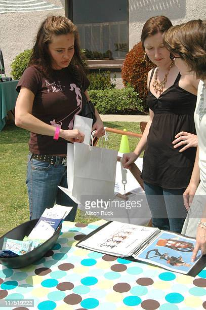 Kelli McCarty at Svan of Sweden during Silver Spoon Dog and Baby Buffet Day 2 at Private Residence in Los Angeles California United States Photo by...