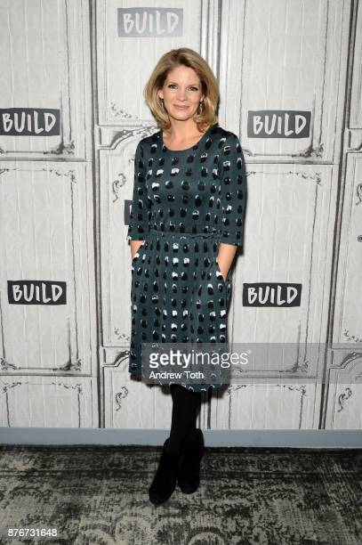 Kelli O'Hara attends the Build Series to discuss 'The Accidental Wolf' at Build Studio on November 20 2017 in New York City