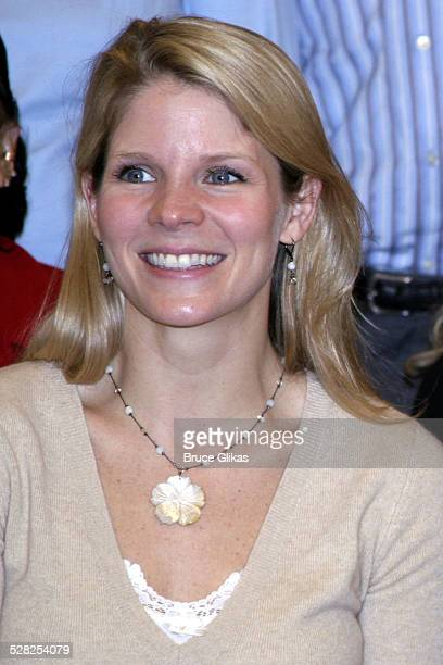 Kelli O'Hara during Harry Connick Jr In The Pajama Game First Day of Rehearsals Meet and Greet at The New 42nd Street Rehearsal Studios in New York...