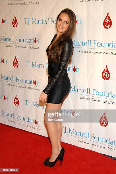 Kelli Tomashoff attends the 35th Annual Awards Gala hosted by the TJ Martell Foundation at Marriot Marquis on October 27 2010 in New York City