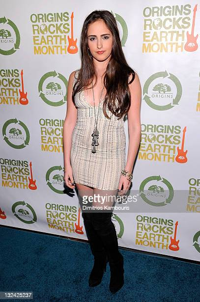 Kelli Tomashoff attends the second annual Origins Rocks Earth Month concert hosted by Origins at Webster Hall on April 20 2011 in New York City
