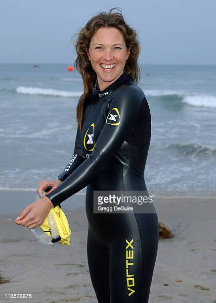 Kelli Williams during 19th Annual Nautica Malibu Triathlon Arrivals at Zuma Beach in Malibu California United States