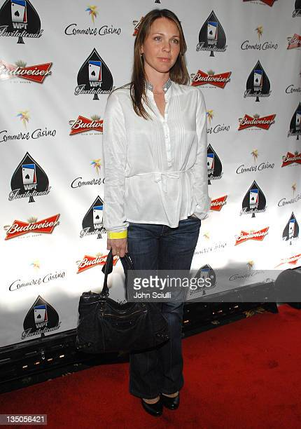 Kelli Williams during 2007 World Poker Tour Celebrity Invitational Red Carpet at Commerce Casino in Commerce California United States