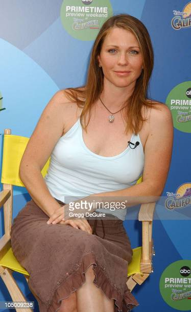 Kelli Williams during ABC Primetime Preview Weekend Day 2 at Disney's California Adventure in Anaheim California United States