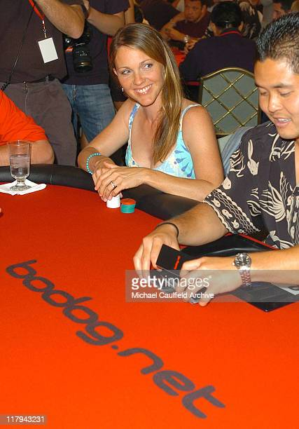 Kelli Williams during bodognet Salute to the Troops Charity Event Benefitting Military Charity Fisher House Foundation Poker Tournament at Kahala...