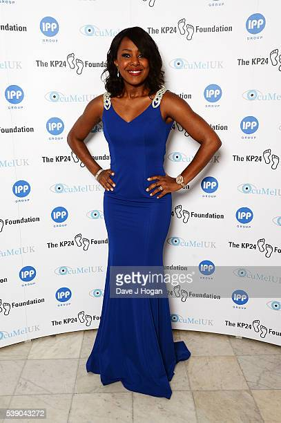 Kelli Young Attends The Kp Foundation Charity Gala Dinner At The Waldorf Hilton Hotel On June