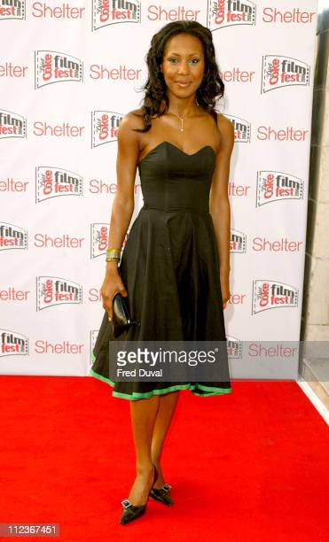Kelli Young of Liberty X during Diet Coke Film Festival 2004 'Dirty Dancing' Gala Film Premiere at The Electric Cinema in London Great Britain