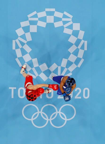 JPN: Boxing - Olympics: Day 13