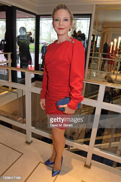 Kellie Bright arrives at the TRIC Awards 2020 at The Grosvenor House Hotel on March 10 2020 in London England