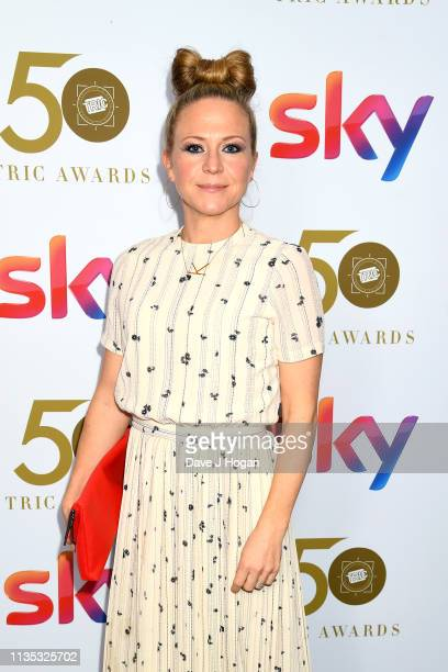 Kellie Bright attends the 2019 'TRIC Awards' held at The Grosvenor House Hotel on March 12 2019 in London England