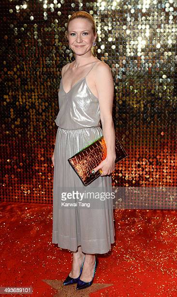 Kellie Bright attends the British Soap Awards held at the Hackney Empire on May 24 2014 in London England