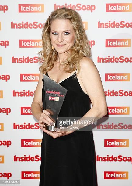 Kellie Bright attends the Inside Soap Awards at Dstrkt on October 1 2014 in London England