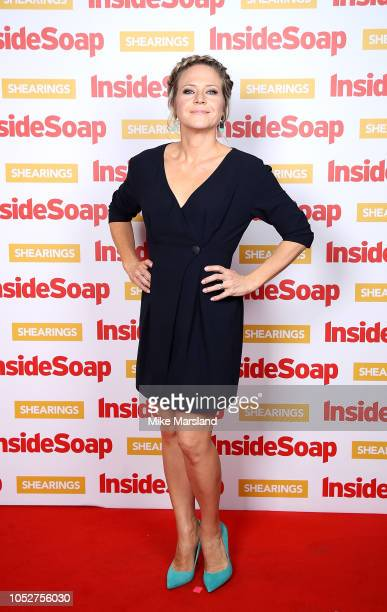 Kellie Bright attends the Inside Soap Awards held at 100 Wardour Street on October 22 2018 in London England