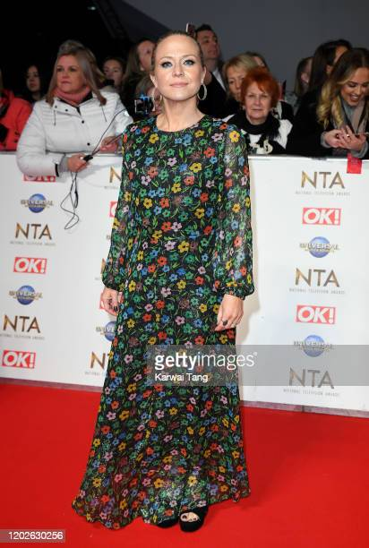 Kellie Bright attends the National Television Awards 2020 at The O2 Arena on January 28 2020 in London England