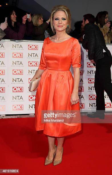 Kellie Bright attends the National Television Awards at 02 Arena on January 21 2015 in London England