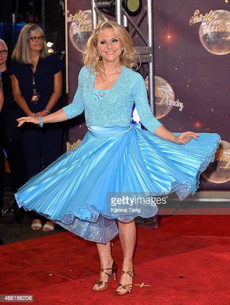 Kellie Bright attends the red carpet launch of 'Strictly Come Dancing 2015' at Elstree Studios on September 1 2015 in Borehamwood England