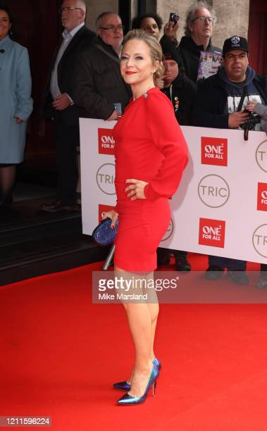 Kellie Bright attends the TRIC Awards 2020 at The Grosvenor House Hotel on March 10 2020 in London England