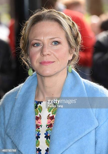Kellie Bright attends the TRIC Awards at Grosvenor House Hotel on March 10 2015 in London England