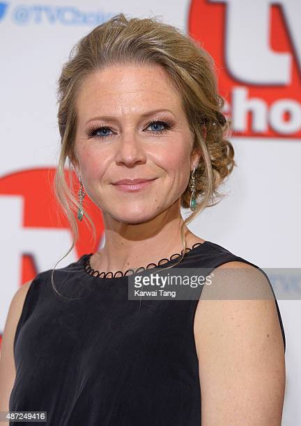 Kellie Bright attends the TV Choice Awards 2015 at Hilton Park Lane on September 7 2015 in London England
