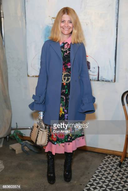 Kellie Hush arrives ahead of the Acler X Myer lunch at No 1 Bent Street on May 16 2017 in Sydney Australia