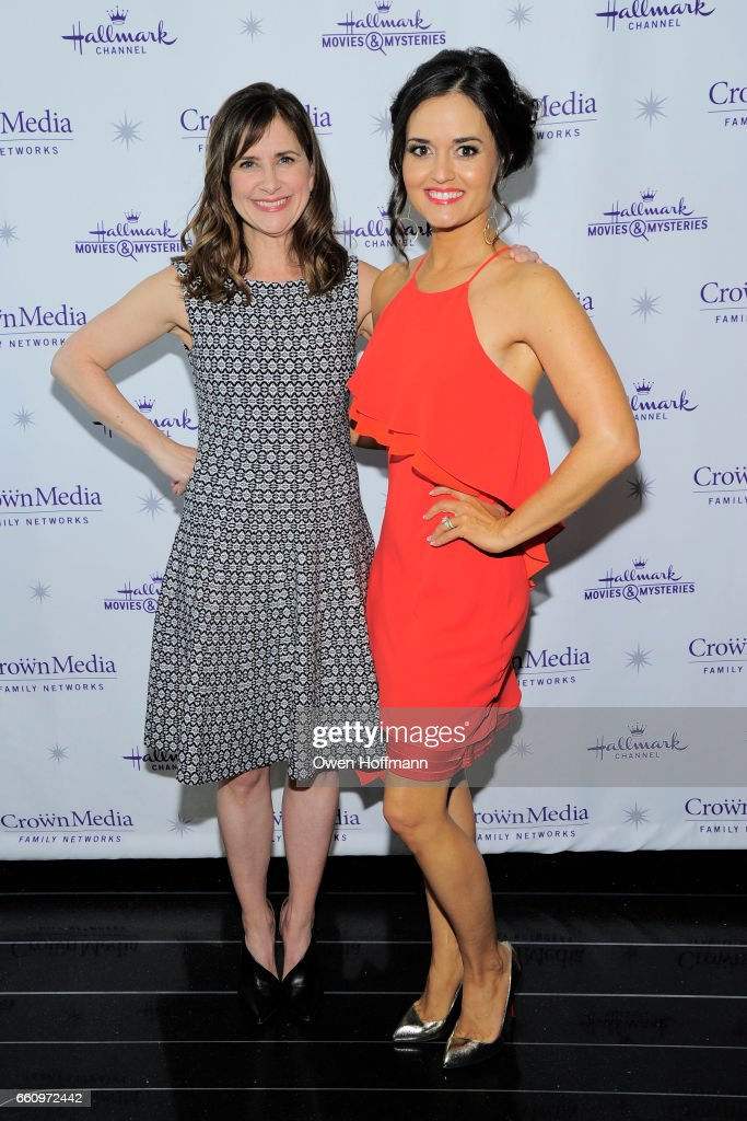 Crown Media's Upfront Event : News Photo