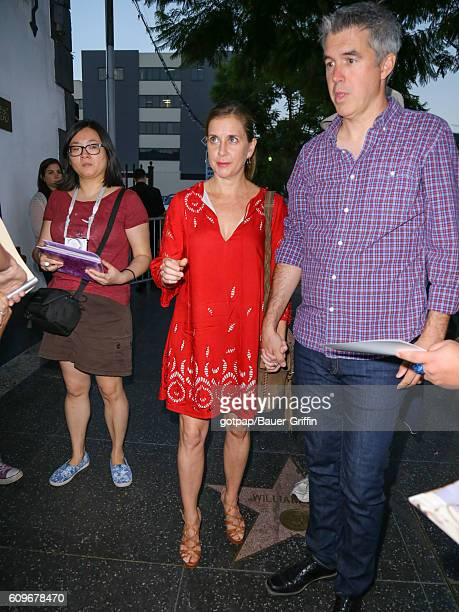 Kellie Martin and Keith Christian are seen on September 21 2016 in Los Angeles California