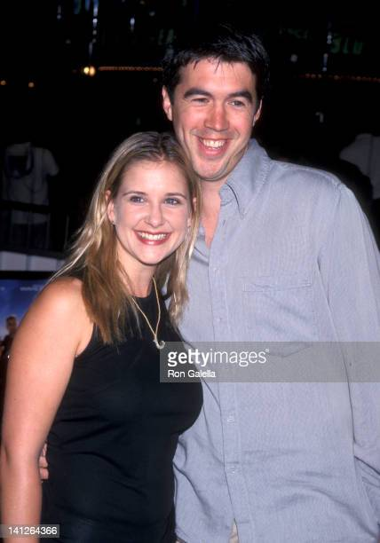 Kellie Martin and Keith Christian at the Premiere of 'Three Kings', Mann Village Theatre, Westwood.