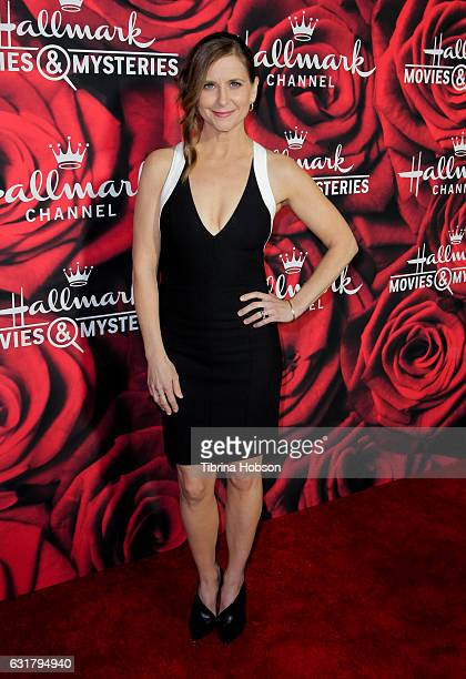 Kellie Martin attends Hallmark Channel Movies and Mysteries Winter 2017 TCA Press Tour at The Tournament House on January 14 2017 in Pasadena...