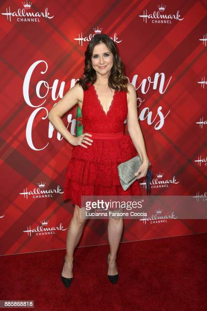 Kellie Martin attends Hallmark Channel's Countdown To Christmas celebration and VIP screening of Christmas At Holly Lodge at The Grove on December 4...
