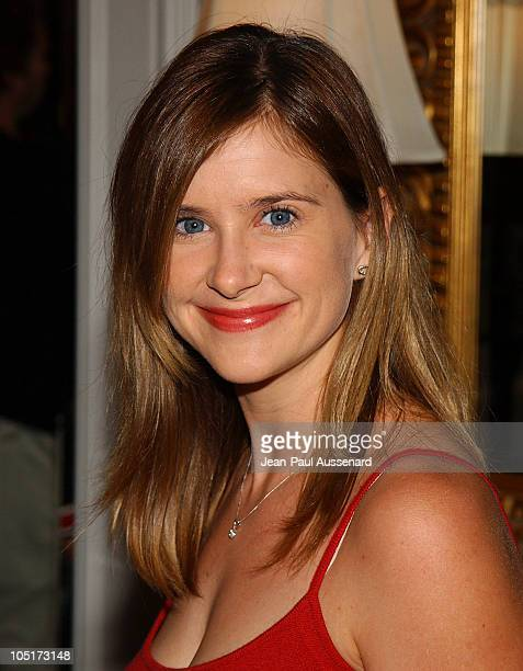 Kellie Martin during Lupus LA and InStyle Present The Old Bags Lupus Luncheon at Beverly Hills Hotel in Beverly Hills California United States