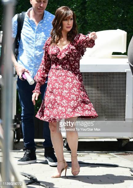 Kellie Martin is seen on April 23 2019 in Los Angeles California