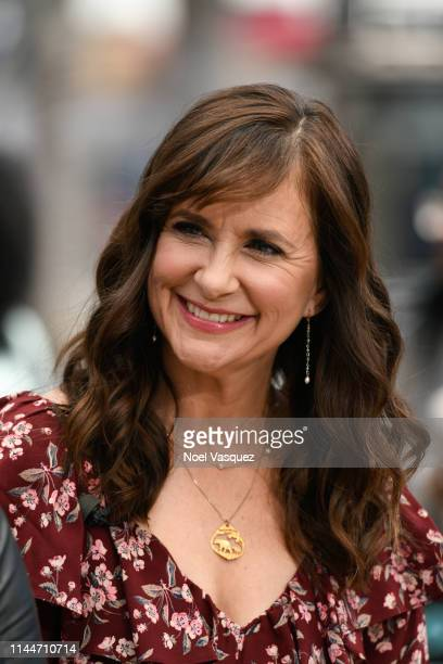 Kellie Martin visits Extra at Universal Studios Hollywood on April 23 2019 in Universal City California
