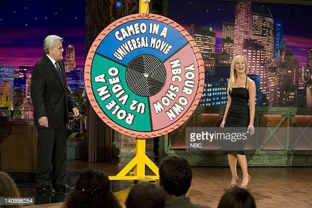 LENO Kellie Pickler Air Date 4/27/06 Pictured Host Jay Leno and American Idol contestant Kellie Pickler on April 27 2006 Photo by Paul...