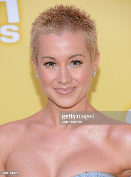 Kellie Pickler attends the 46th annual CMA Awards at the Bridgestone Arena on November 1 2012 in Nashville Tennessee