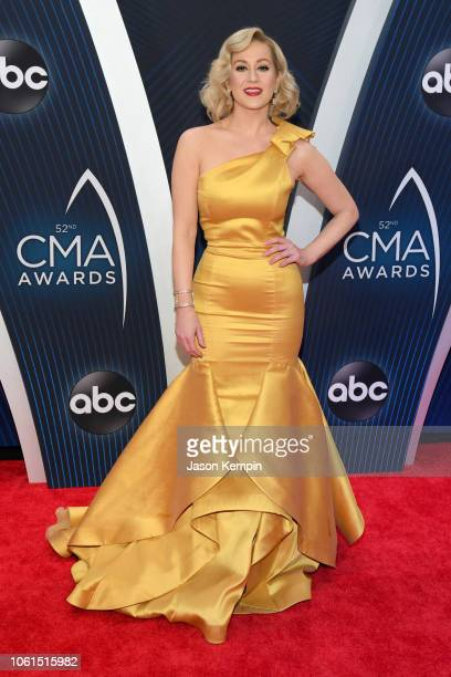 Kellie Pickler attends the 52nd annual CMA Awards at the Bridgestone Arena on November 14 2018 in Nashville Tennessee